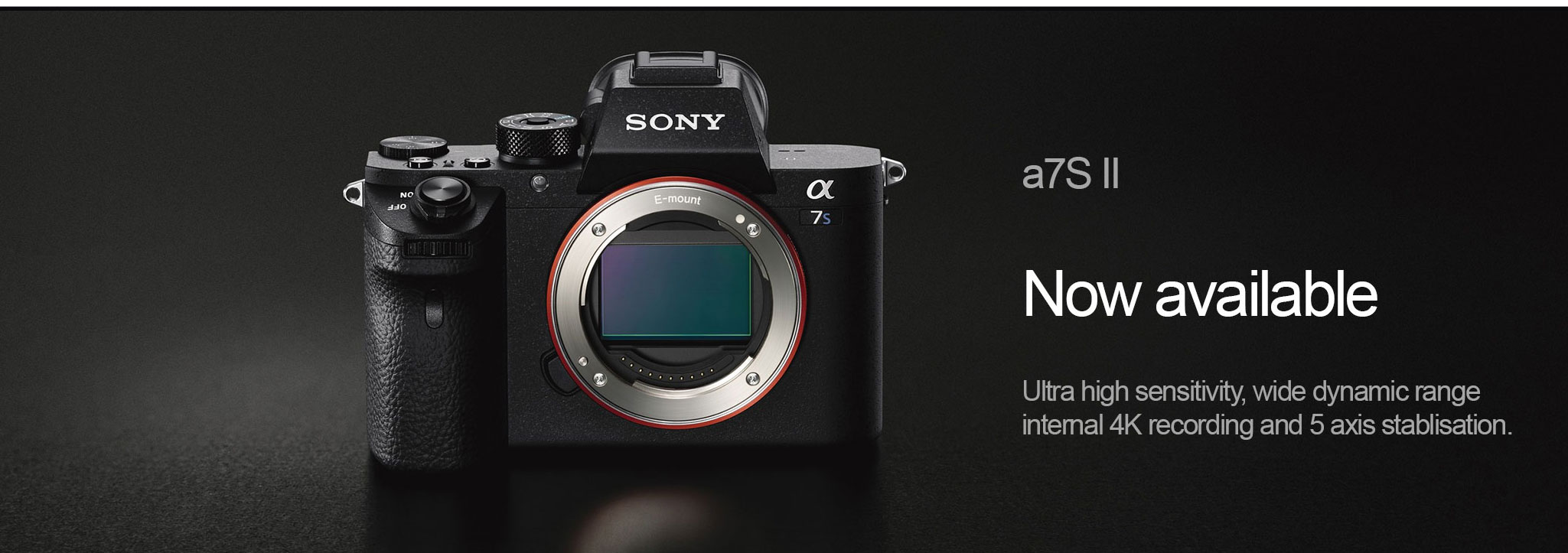 Sony a7S II Hire